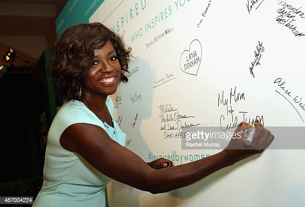 Actress Viola Davis attends the 2014 Variety Power of Women presented by Lifetime at Beverly Wilshire Four Seasons Hotel on October 10 2014 in Los...