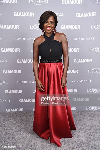 Actress Viola Davis attends the 2015 Glamour Women Of The Year Awards at Carnegie Hall on November 9 2015 in New York City