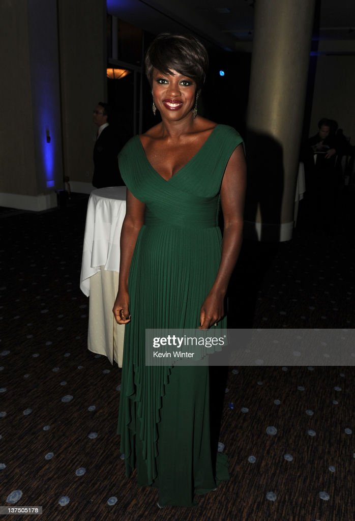 Actress Viola Davis attends the 23rd annual Producers Guild Awards at The Beverly Hilton hotel on January 21, 2012 in Beverly Hills, California.