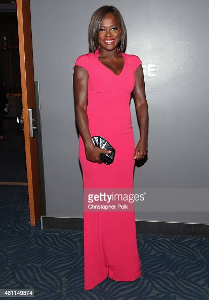 Actress Viola Davis attends The 41st Annual People's Choice Awards at Nokia Theatre LA Live on January 7 2015 in Los Angeles California