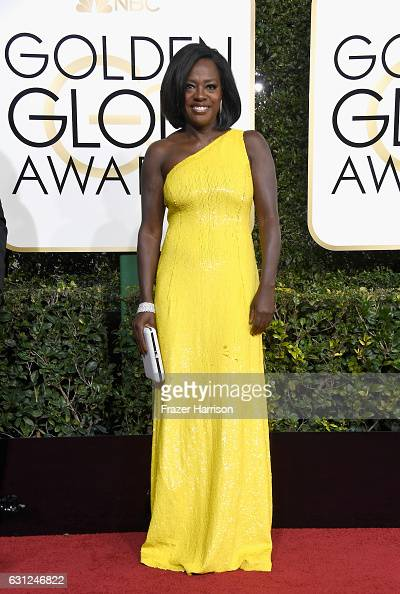 Actress Viola Davis attends the 74th Annual Golden Globe Awards at The Beverly Hilton Hotel on January 8 2017 in Beverly Hills California