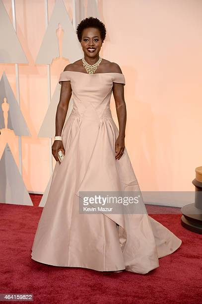 Actress Viola Davis attends the 87th Annual Academy Awards at Hollywood Highland Center on February 22 2015 in Hollywood California