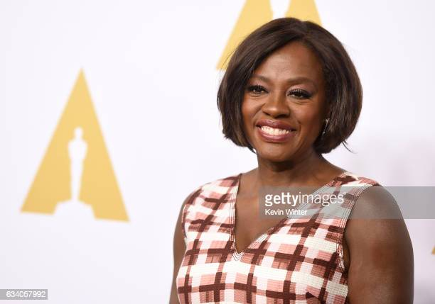 Actress Viola Davis attends the 89th Annual Academy Awards Nominee Luncheon at The Beverly Hilton Hotel on February 6 2017 in Beverly Hills California