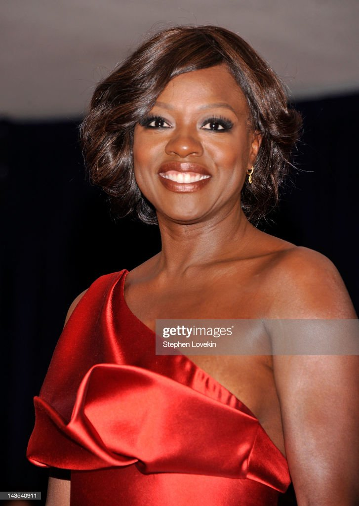 Actress <a gi-track='captionPersonalityLinkClicked' href=/galleries/search?phrase=Viola+Davis&family=editorial&specificpeople=653789 ng-click='$event.stopPropagation()'>Viola Davis</a> attends the 98th Annual White House Correspondents' Association Dinner at the Washington Hilton on April 28, 2012 in Washington, DC.