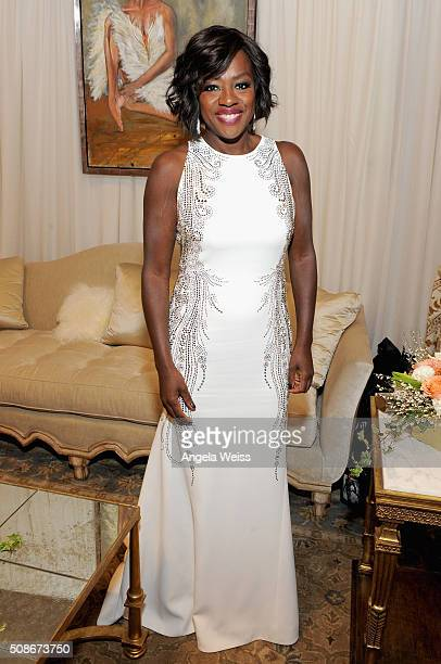 Actress Viola Davis attends the Backstage Creations Celebrity Retreat at The 47th NAACP Image Awards at Pasadena Civic Auditorium on February 5 2016...