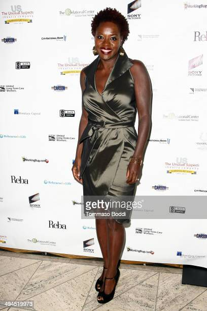 Actress Viola Davis attends the Change Together The Unusual Suspects Theatre Co Gala held at Cicada on May 29 2014 in Los Angeles California