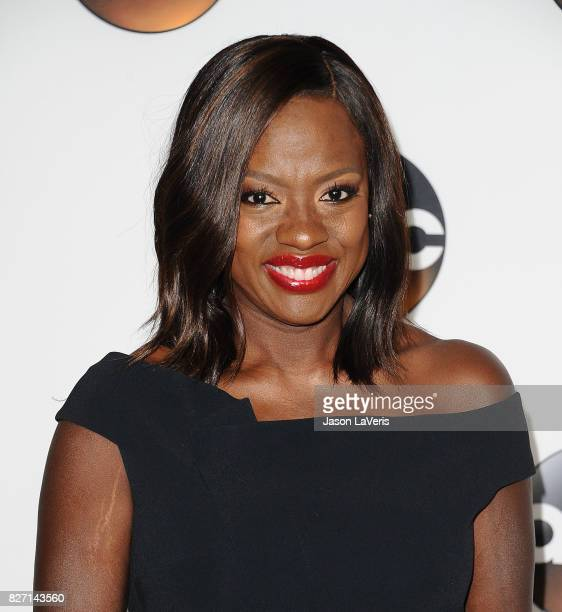 Actress Viola Davis attends the Disney ABC Television Group TCA summer press tour at The Beverly Hilton Hotel on August 6 2017 in Beverly Hills...