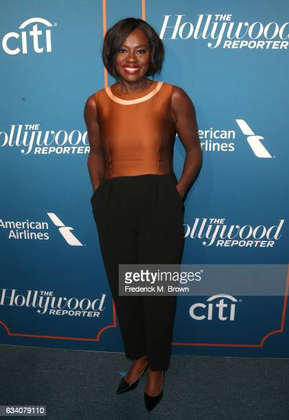 Actress Viola Davis attends The Hollywood Reporter 5th Annual Nominees Night at Spago on February 6 2017 in Beverly Hills California