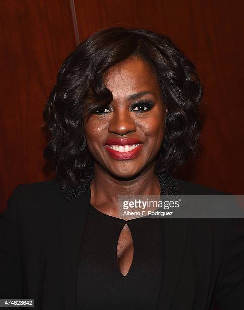 Actress Viola Davis attends The LA Times' Envelope screening of 'How To Get Away With Murder' at ArcLight Sherman Oaks on May 26 2015 in Sherman Oaks...