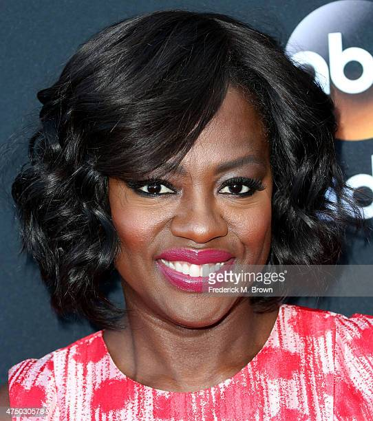 Actress Viola Davis attends the screening of 'How To Get Away With Murder' ATAS Event at the Sunset Gower Studios on May 28 2015 in Hollywood...