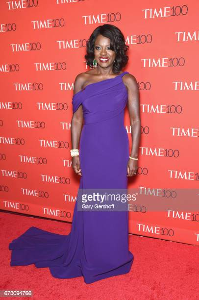 Actress Viola Davis attends the Time 100 Gala at Frederick P Rose Hall Jazz at Lincoln Center on April 25 2017 in New York City