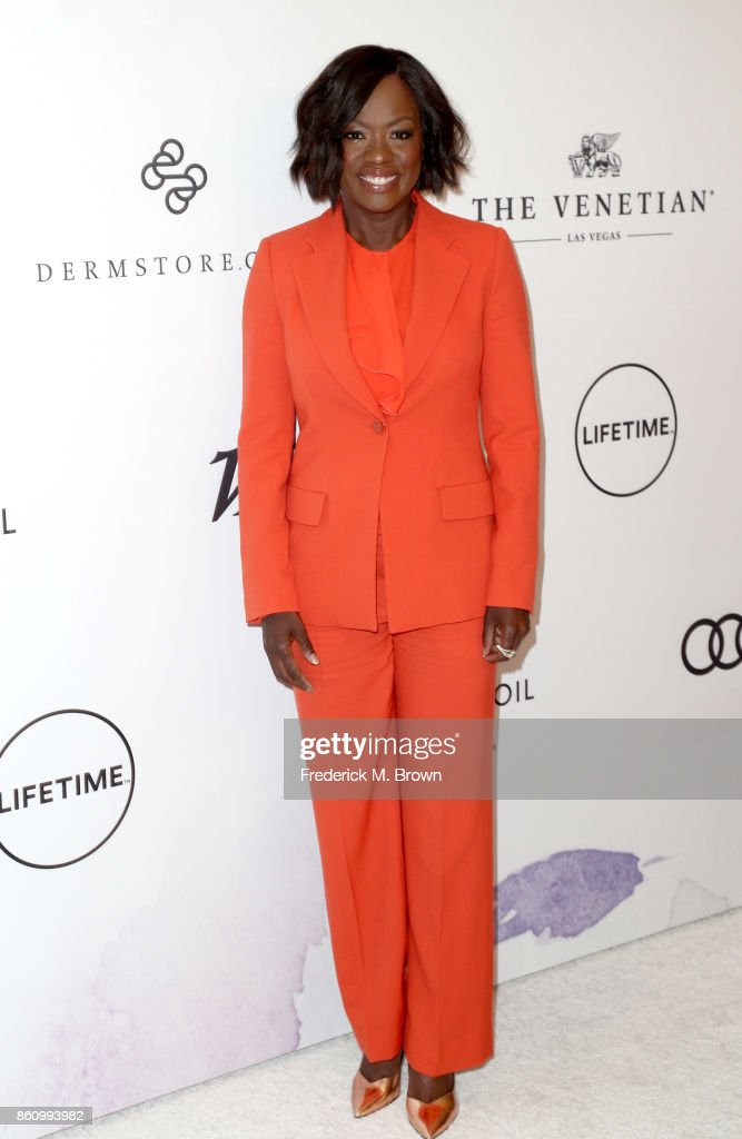Actress Viola Davis attends the Variety's Power Of Women at the Beverly Wilshire Four Seasons Hotel on October 13, 2017 in Beverly Hills, California.