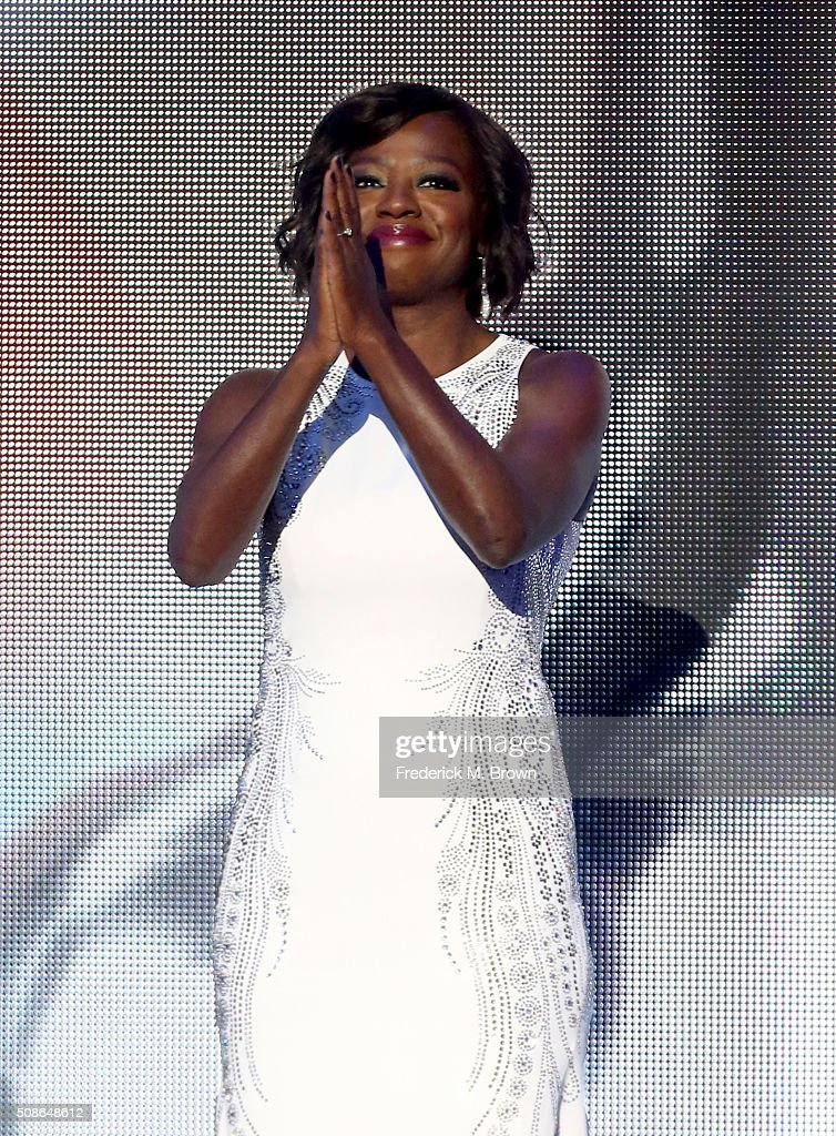 Actress Viola Davis presents award for Outstanding Actor in a Motion Picture onstage during the 47th NAACP Image Awards presented by TV One at Pasadena Civic Auditorium on February 5, 2016 in Pasadena, California.