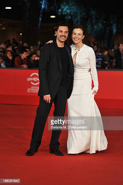Actress Violante Placido attends 'The Lookout' Premiere during the 7th Rome Film Festival at the Auditorium Parco Della Musica on November 12 2012 in...