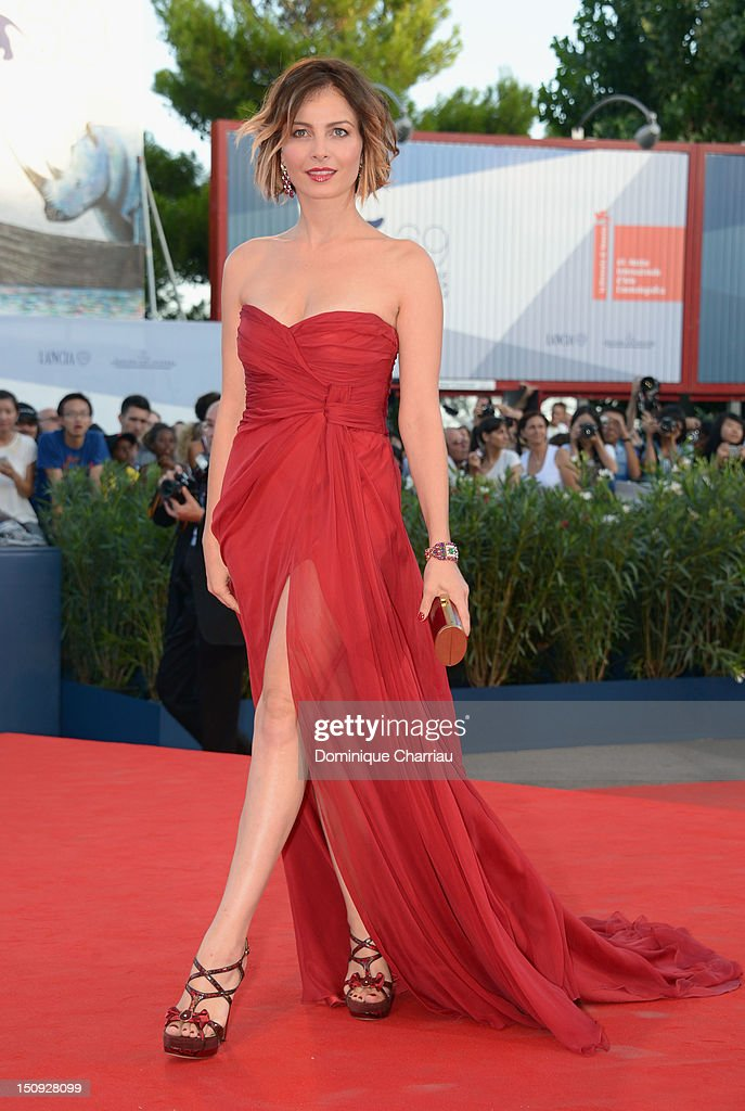 Actress Violante Placido attends The Reluctant Fundamentalist premiere and opening ceremony during the 69th Venice Film Festival at the Palazzo del...