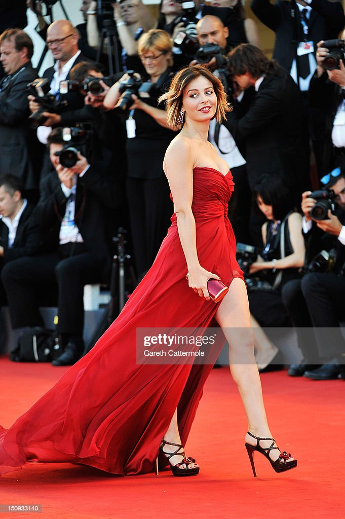 Actress Violante Placido attends 'The Reluctant Fundamentalist' Premiere And Opening Ceremony during the 69th Venice International Film Festival at Palazzo del Cinema on August 29, 2012 in Venice, Italy.