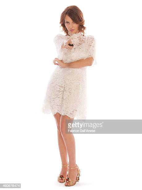Actress Violante Placido is photographed for Vanity Fair Italy on November 10 2013 in Rome at the Rome Film Festival Italy