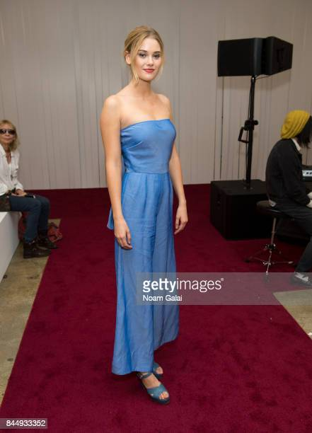 Actress Virginia Gardner attends the Jill Stuart fashion show during New York Fashion Week on September 9 2017 in New York City