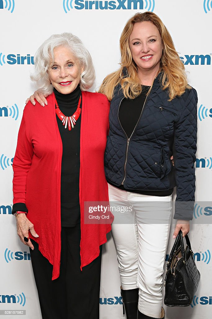 Actress <a gi-track='captionPersonalityLinkClicked' href=/galleries/search?phrase=Virginia+Madsen&family=editorial&specificpeople=202232 ng-click='$event.stopPropagation()'>Virginia Madsen</a> and mother <a gi-track='captionPersonalityLinkClicked' href=/galleries/search?phrase=Elaine+Madsen&family=editorial&specificpeople=2297334 ng-click='$event.stopPropagation()'>Elaine Madsen</a> (L) visit the SiriusXM Studios on May 04, 2016 in New York, New York.