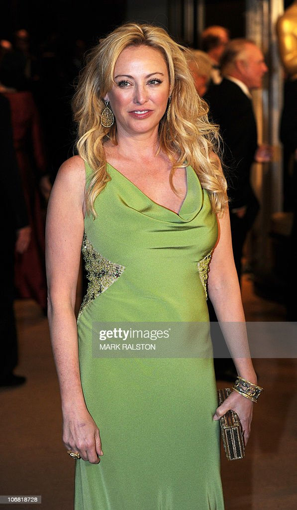 Actress Virginia Madsen arrives on the red carpet for the 2010 Oscars Governors Awards at the Hollywood and Highland Center in Hollywood on November 13, 2010. AFP PHOTO/Mark RALSTON