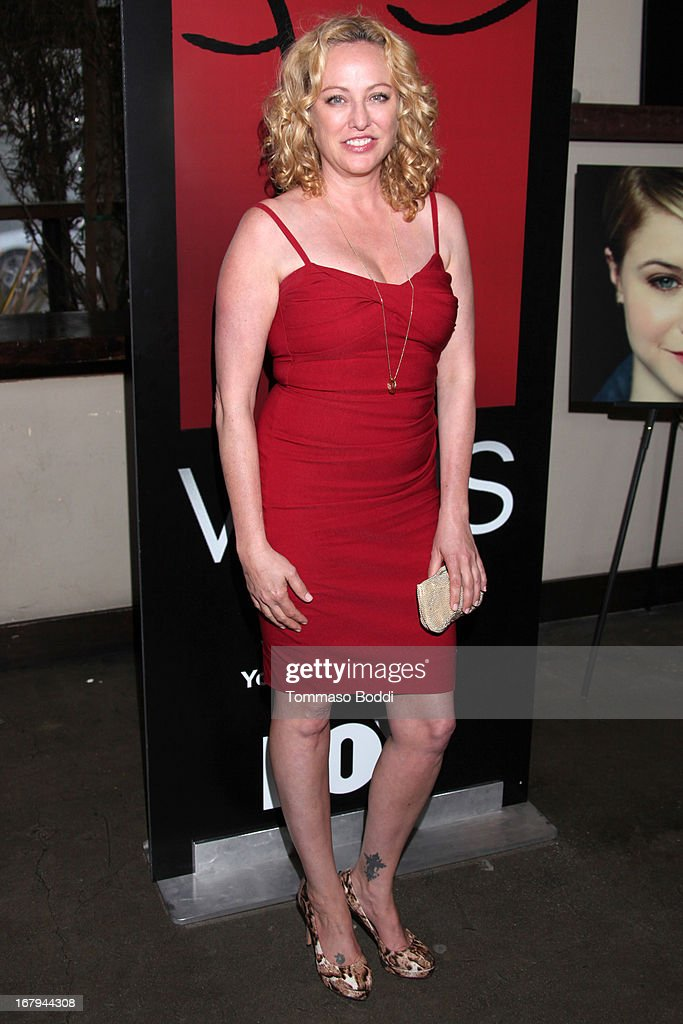 Actress <a gi-track='captionPersonalityLinkClicked' href=/galleries/search?phrase=Virginia+Madsen&family=editorial&specificpeople=202232 ng-click='$event.stopPropagation()'>Virginia Madsen</a> attends the 1 year anniversary celebration for the WIGS Digital Channel held at Akasha on May 2, 2013 in Culver City, California.