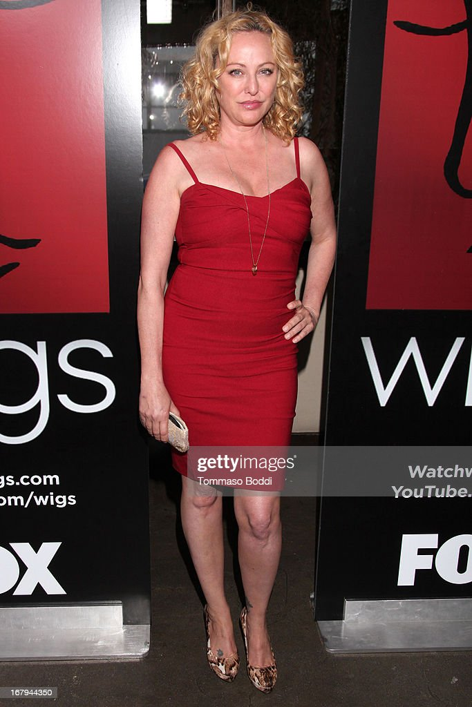 Actress Virginia Madsen attends the 1 year anniversary celebration for the WIGS Digital Channel held at Akasha on May 2, 2013 in Culver City, California.