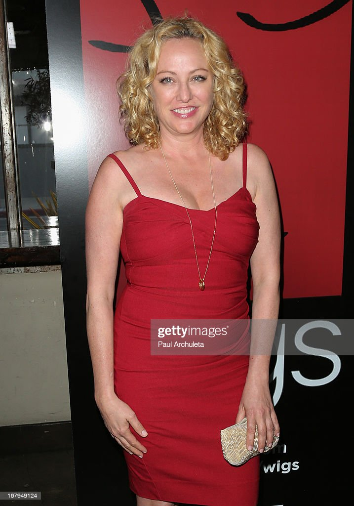 Actress Virginia Madsen attends the one year anniversary celebration for the WIGS digital channel at Akasha Restaurant on May 2, 2013 in Culver City, California.