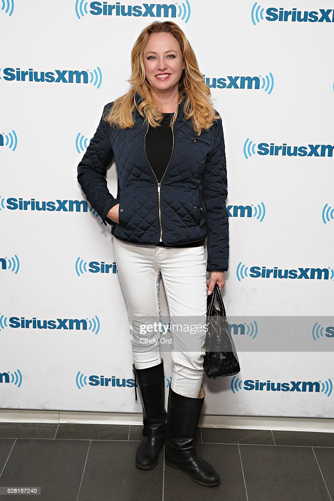 Actress <a gi-track='captionPersonalityLinkClicked' href=/galleries/search?phrase=Virginia+Madsen&family=editorial&specificpeople=202232 ng-click='$event.stopPropagation()'>Virginia Madsen</a> visits the SiriusXM Studios on May 04, 2016 in New York, New York.
