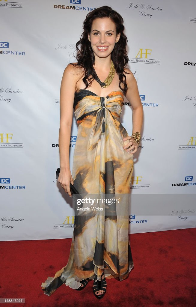 Actress Virginia Welch arrives to The Dream Center's 5th annual night of dreams gala at The Dream Center on October 3, 2012 in Los Angeles, California.