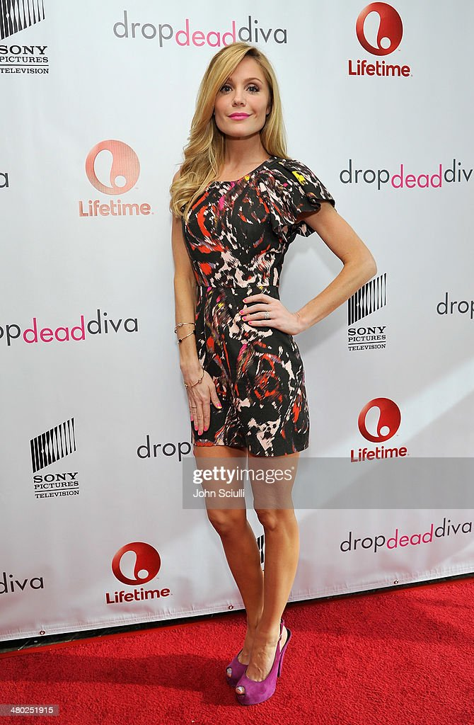 Actress Virginia Williams attends the 'Drop Dead Diva' final season premiere party on March 23, 2014 in West Hollywood, California.