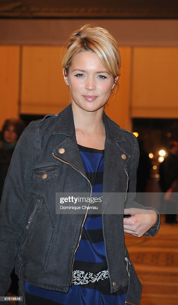 Actress <a gi-track='captionPersonalityLinkClicked' href=/galleries/search?phrase=Virginie+Efira&family=editorial&specificpeople=228714 ng-click='$event.stopPropagation()'>Virginie Efira</a> attends the Yves Saint-Laurent Exhibition Launch at Le Petit Palais on March 10, 2010 in Paris, France.