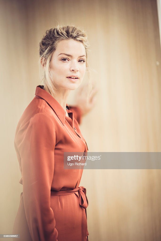 Actress <a gi-track='captionPersonalityLinkClicked' href=/galleries/search?phrase=Virginie+Efira&family=editorial&specificpeople=228714 ng-click='$event.stopPropagation()'>Virginie Efira</a> is photographed for Self Assignment on May 15, 2016 in Cannes, France.