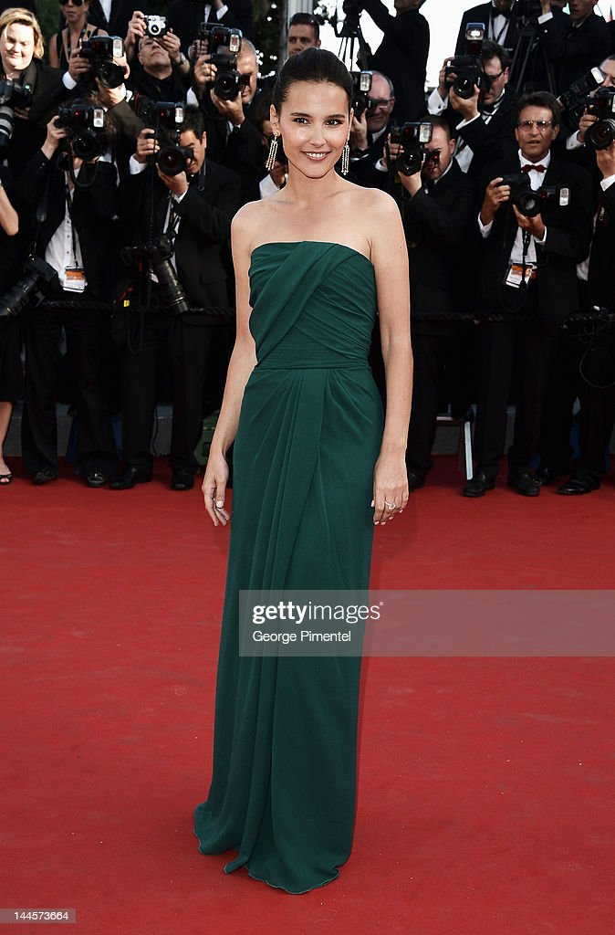 Actress Virginie Ledoyen attends the Opening Ceremony and 'Moonrise Kingdom' Premiere during the 65th Annual Cannes Film Festival at the Palais des Festivals on May 16, 2012 in Cannes, France.