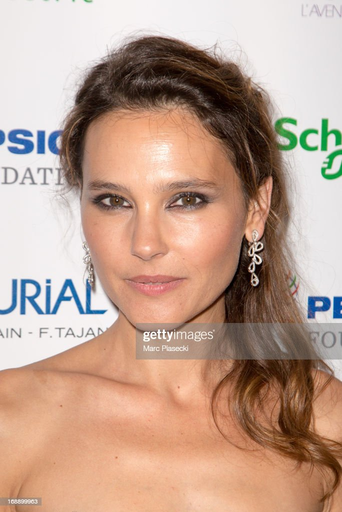 Actress Virginie Ledoyen attends the 'Planet Finance' dinner photocall at the 'Carlton' hotel during the 66th annual Cannes Film Festival on May 16, 2013 in Cannes, France.
