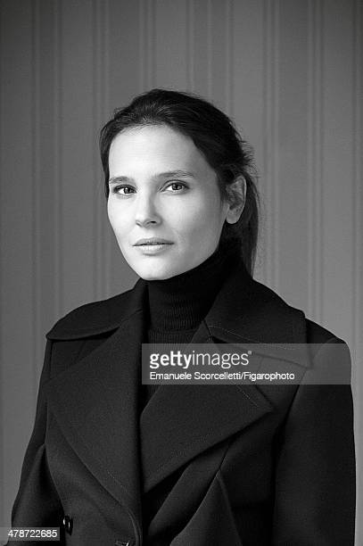 108881011 Actress Virginie Ledoyen is photographed for Madame Figaro on January 20 2014 in Paris France PUBLISHED IMAGE CREDIT MUST READ Emanuele...