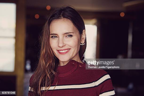 Actress Virginie Ledoyen is photographed for Madame Figaro on October 11 2016 in Paris France Sweater earring PUBLISHED IMAGE CREDIT MUST READ Thomas...