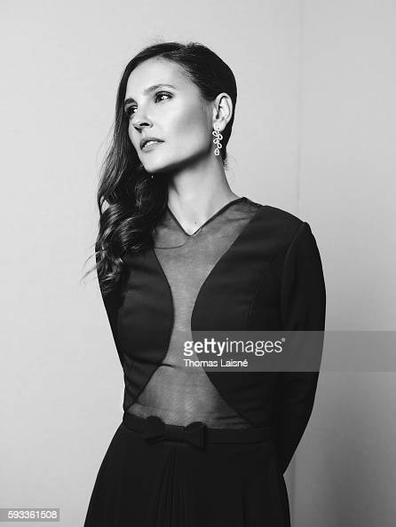 Actress Virginie Ledoyen is photographed for Self Assignment on May 17 2015 in Cannes France