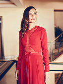 Actress Virginie Ledoyen is photographed on May 18 2015 in Cannes France