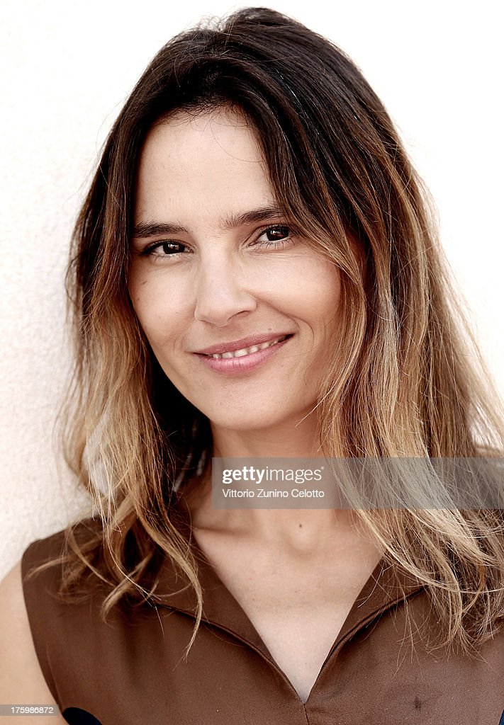 Actress <a gi-track='captionPersonalityLinkClicked' href=/galleries/search?phrase=Virginie+Ledoyen&family=editorial&specificpeople=206954 ng-click='$event.stopPropagation()'>Virginie Ledoyen</a> poses for a portrait during the 66th Locarno Film Festival on August 11, 2013 in Locarno, Switzerland.