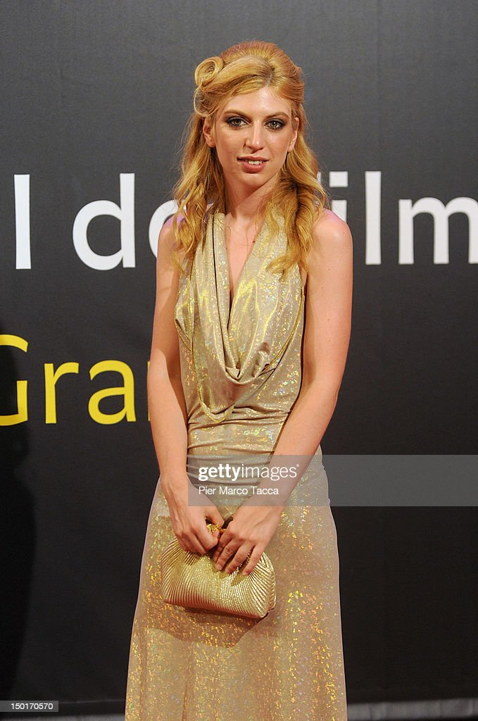 Actress Virginie Legeay attends the winners red carpet during the 65th Locarno Film Festival on August 11, 2012 in Locarno, Switzerland.