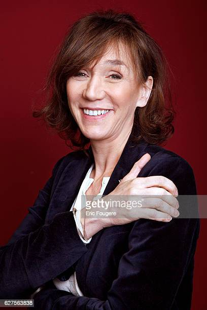 Actress Virginie Lemoine Photographed in PARIS