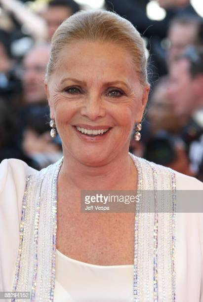 Actress Virna Lisi attends the 'Inglourious Basterds' Premiere at the Grand Theatre Lumiere during the 62nd Annual Cannes Film Festival on May 20...