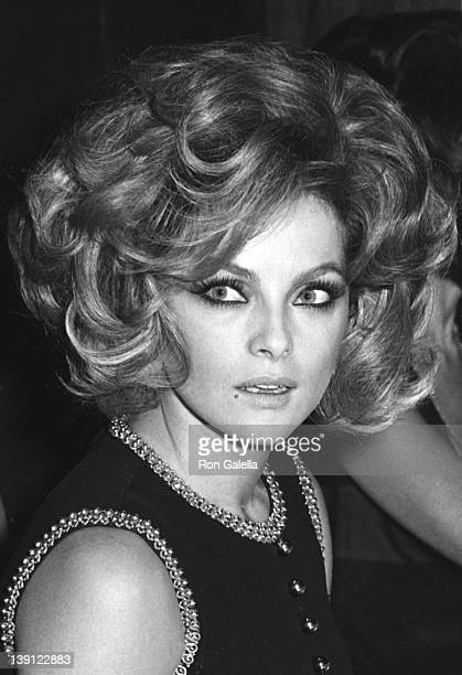 Actress Virna Lisi attends the premiere of 'A Flea In Her Ear' on October 18 1968 at the Marigny Theater in Paris France