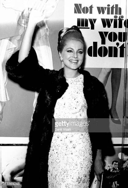 Actress Virna Lisi posing for a photo on January 101966 in New York New York