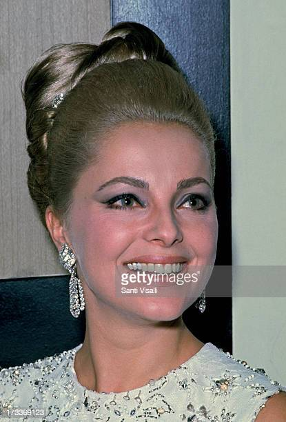 Actress Virna Lisi posing for a portrait on January 101966 in New York New York