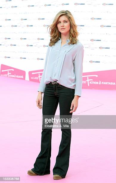 Actress Vittoria Puccini attends the 2012 RomaFictionFest at Auditorium Parco della Musica on October 3 2012 in Rome Italy