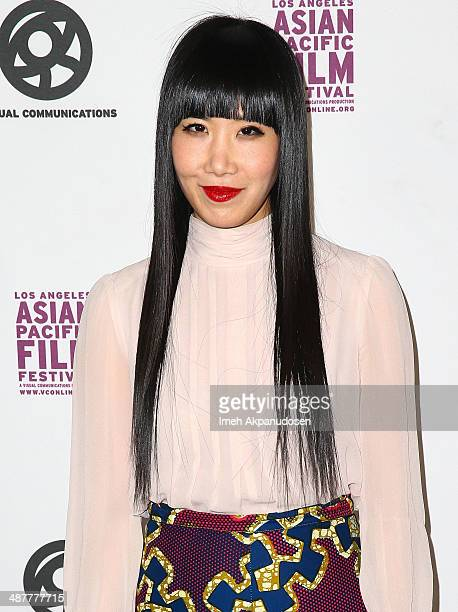 Actress Vivian Bang attends the 2014 LA Asian Pacific Film Festival opening night for 'To Be Takei' at Directors Guild Of America on May 1 2014 in...