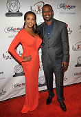 Actress Vivica A Fox and singer Brian McKnight arrive at the Cheaper To Keep Her' Opening Night at the Wiltern on September 30 2010 in Los Angeles...