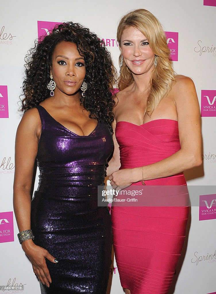 Actress <a gi-track='captionPersonalityLinkClicked' href=/galleries/search?phrase=Vivica+A.+Fox&family=editorial&specificpeople=201901 ng-click='$event.stopPropagation()'>Vivica A. Fox</a> and TV personality <a gi-track='captionPersonalityLinkClicked' href=/galleries/search?phrase=Brandi+Glanville&family=editorial&specificpeople=841250 ng-click='$event.stopPropagation()'>Brandi Glanville</a> attend <a gi-track='captionPersonalityLinkClicked' href=/galleries/search?phrase=Vivica+A.+Fox&family=editorial&specificpeople=201901 ng-click='$event.stopPropagation()'>Vivica A. Fox</a>'s 50th birthday celebration at Philippe Chow on August 2, 2014 in Beverly Hills, California.