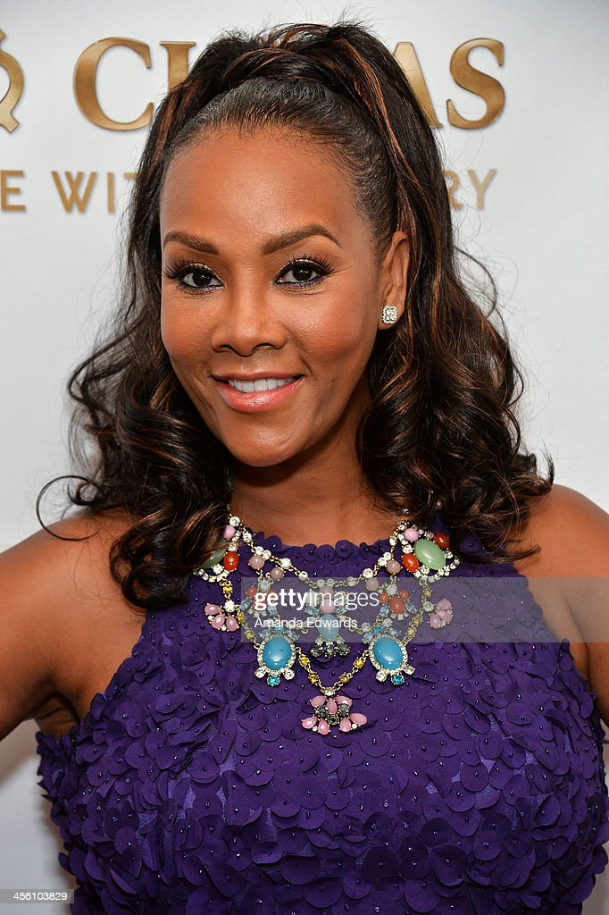 Actress Vivica A. Fox arrives at The British American Business Council Los Angeles 54th Annual Christmas Luncheon at the Fairmont Miramar Hotel on December 13, 2013 in Santa Monica, California.